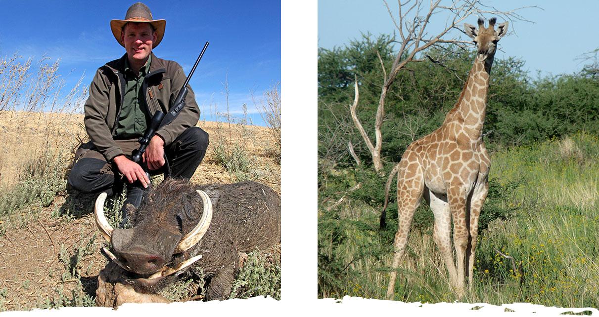 Jagd und Gästefarm Okosongoro Namibia - Wildreichtum