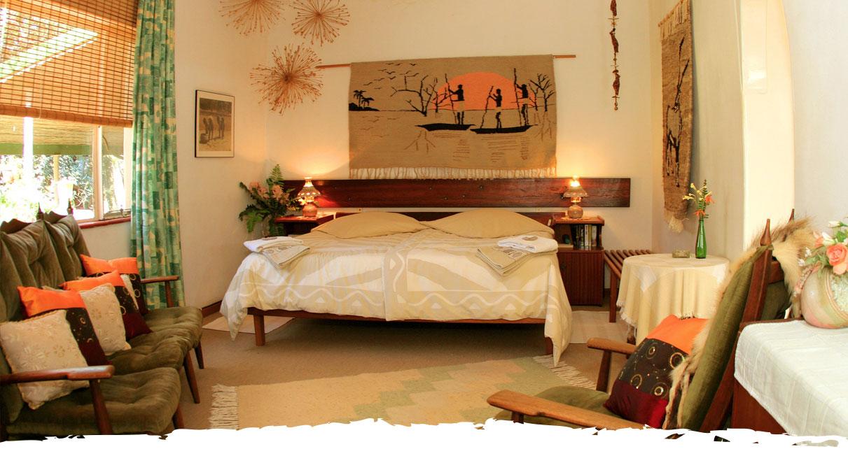 Jagd und Gästefarm Okosongoro Namibia - doppel Zimmer
