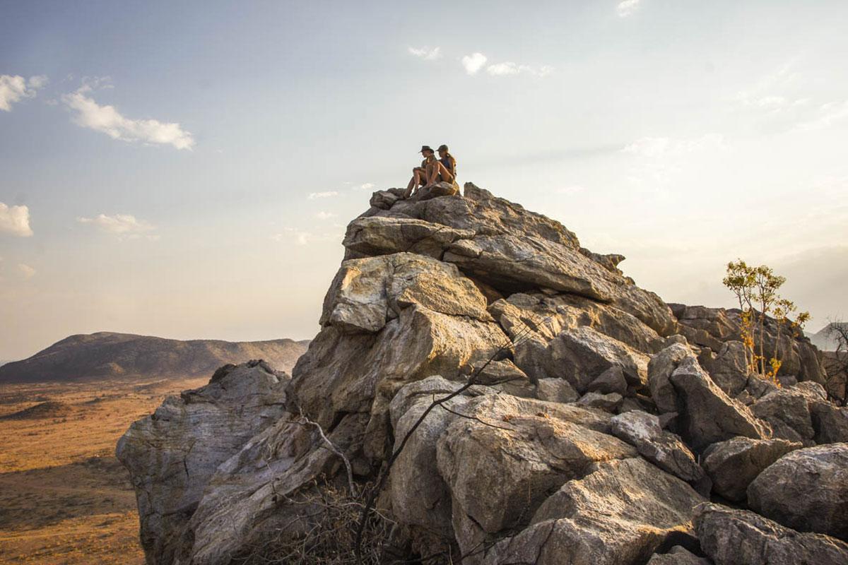 Okosongoro Jagdfarm Namibia - Sundowner