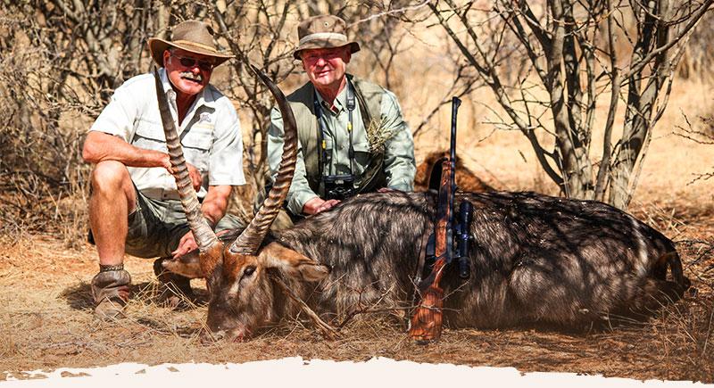 Jagd Urlaub Gästefarm Okosongoro Namibia - Jagdsafari
