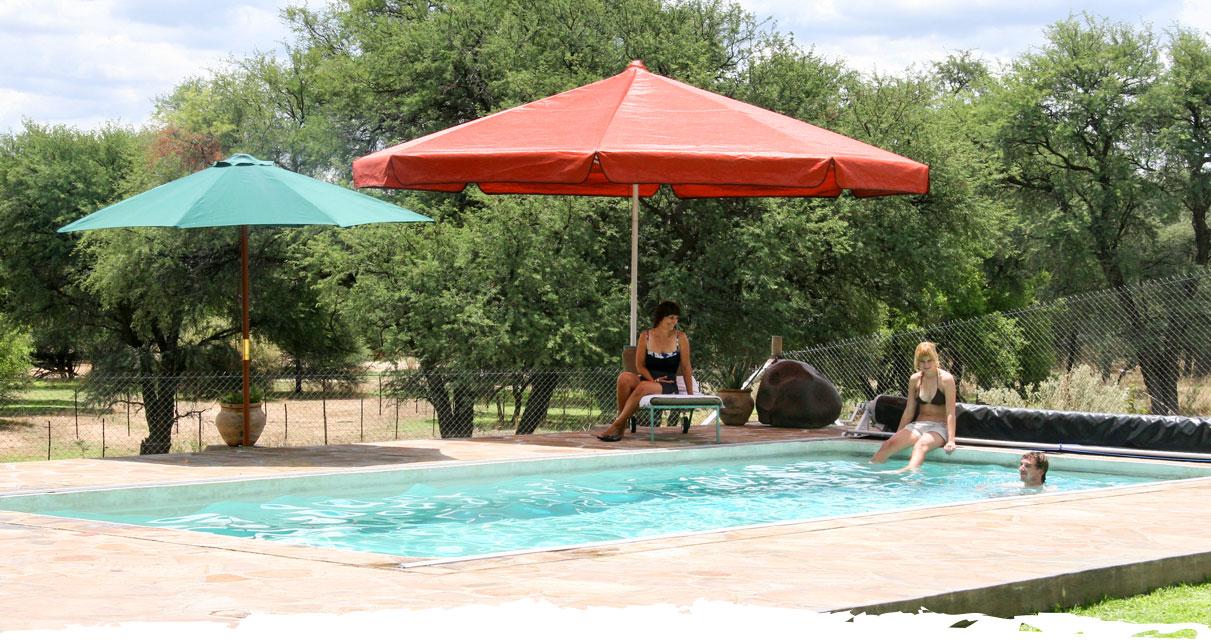 Jagd und Gästefarm Okosongoro Namibia - Unterbringung